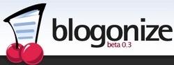 Blogonize - une nouvelle plateforme de blog