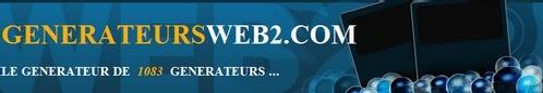 Vous cherchez un générateur de type web 2.0 ?