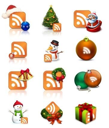 Les logos RSS de Noël sont arrivés