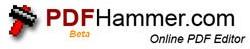 PDF Hammer - Editeur de PDF en ligne