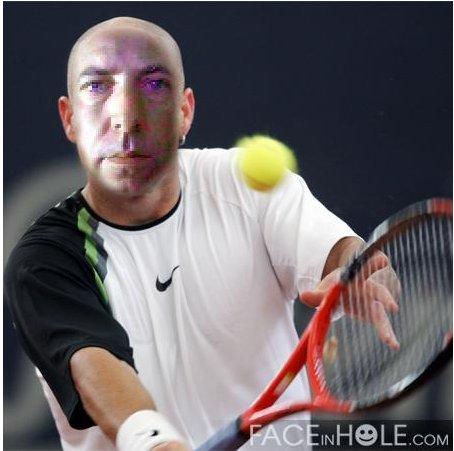 Allez, je me reconvertis en joueur de tennis