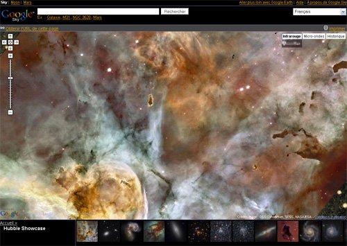 Google lance avant microsoft un explorateur d'espace... bof