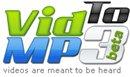 VidToMp3 - Convertir une vidéo Youtube en fichier MP3 et le tout en ligne