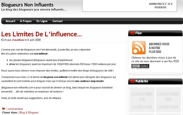 Un blog collaboratif pour devenir influent ?