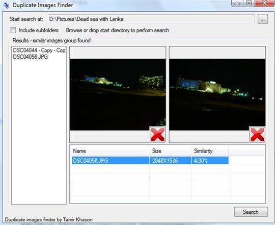 DupliFinder vous aide à retrouver les photos dupliquées sur votre PC
