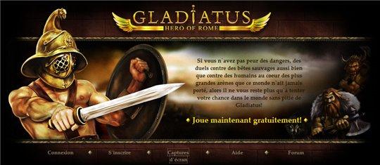 Gladiatus - Jeu de rôle en ligne