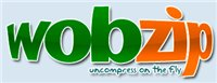 WobZIP - decompressez un fichier en ligne