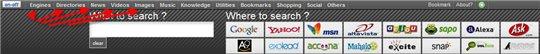 All Search Box - Tous les moteurs sur une seule page