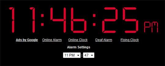 OnlineClock - un réveil matin qui peut rapporter :)