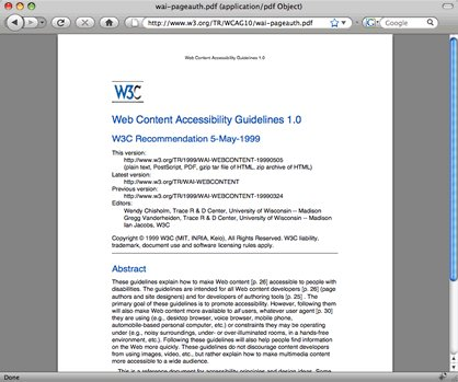 [ Pour MAC ] PDFkit pour lire un PDF sur Firefox 3 sur MAC