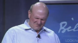 Et Steve Ballmer ......... pleura