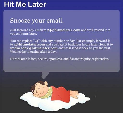 Hit Me Later - Pour ne plus oublier un mail déjà lu