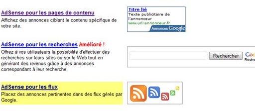 Nouveauté sur Google Adsense - Adsense pour flux RSS Feedburner