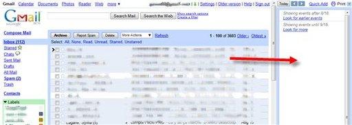 Et si on ajoutait Google Agenda à Gmail ?