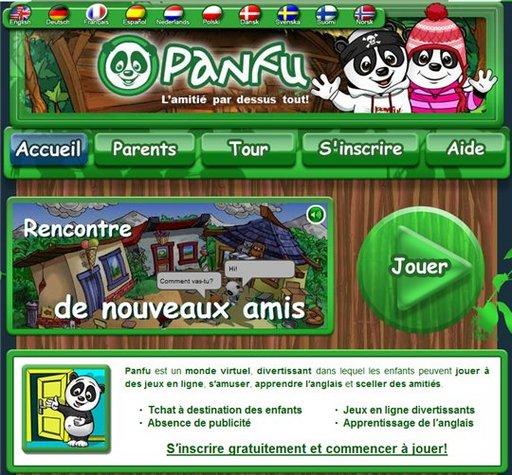 Panfu - un monde virtuel pour les enfants