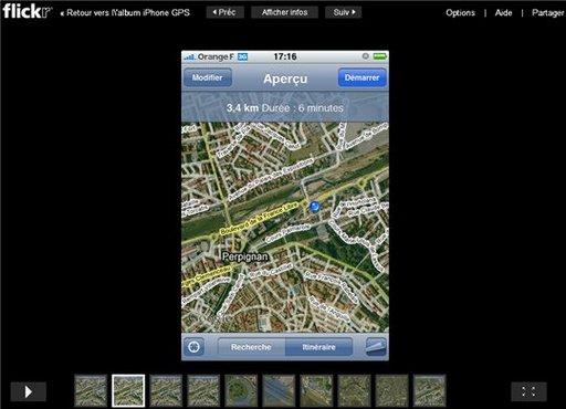 Un nouveau diaporama pour Flickr