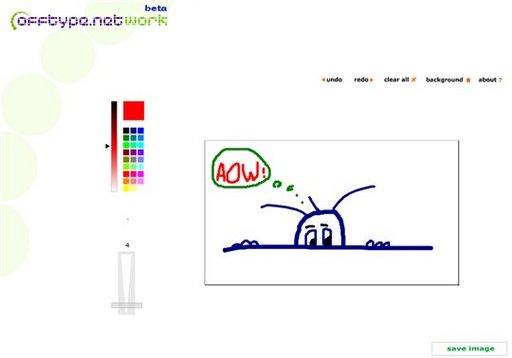 Offrez à vos visiteurs une feuille blanche et des crayons de couleurs