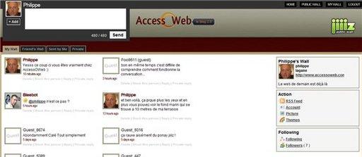 Jiiiz - passage à la Beta 2 et un thème spécial AccessOWeb