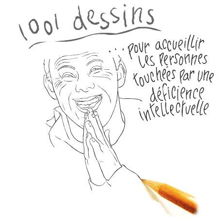 [coup de pouce] 1001 dessins pour accueillir les personnes touchées par une déficience intellectuelle