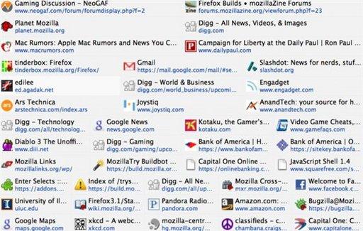 Auto Dial - l'extension Firefox pour un accès rapide aux pages les plus visitées