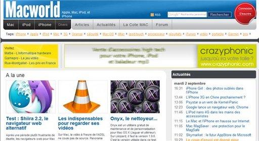 [coup de pub] MacWorld a maintenant son site français