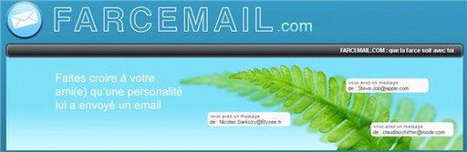 Farcemail - piégez vos amis en leur envoyant un mail avec une adresse truquée
