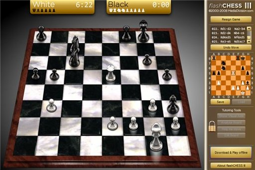 Flashchess3 - Un jeu d'échec en flash ou sous Adobe Air