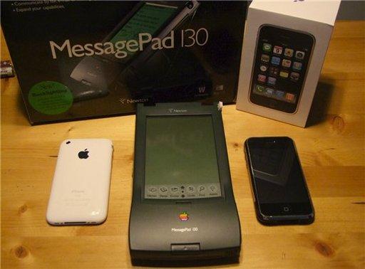 14 ans avant l'iPhone, Apple inventait le Newton
