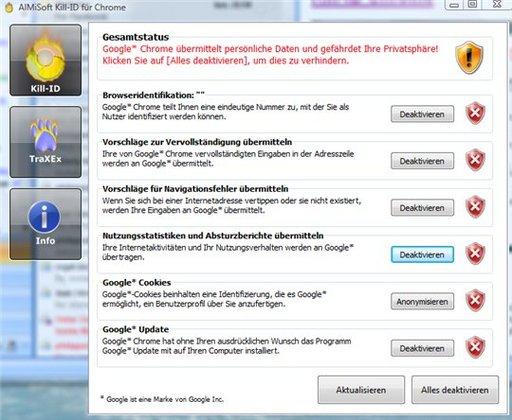 Kill-ID vous permet de rendre votre navigation invisible avec Google Chrome