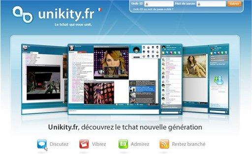 Unikity - le Tchat Web 2.0 arrive très bientôt