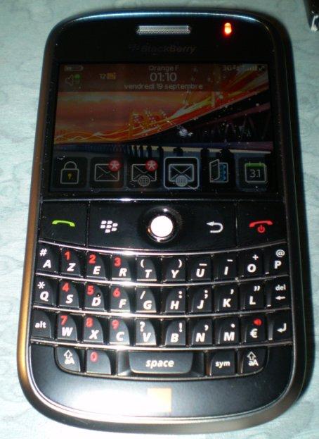 Blackberry Bold en vente chez Orange depuis le 18 septembre