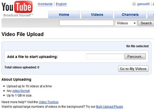 Youtube Uploader Beta