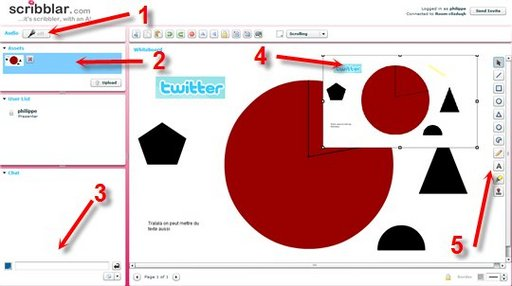Scribblar - Espace de collaboration en ligne gratuit