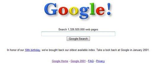 Souvenez vous, en 2001, sur Google, vous cherchiez quoi ?