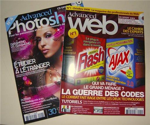 Advanced Web - le nouveau Magazine qui fait parler les blogueurs, en kiosque aujourd'hui