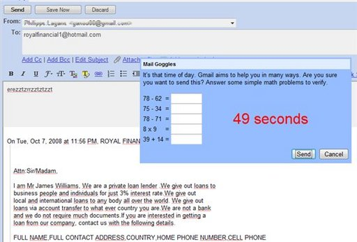 Google invente l'Anti réponse au Spam sur Gmail
