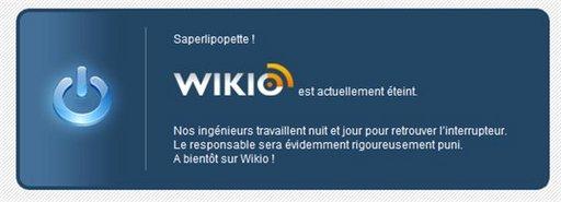 Wikio - sympa la page d'erreur :)