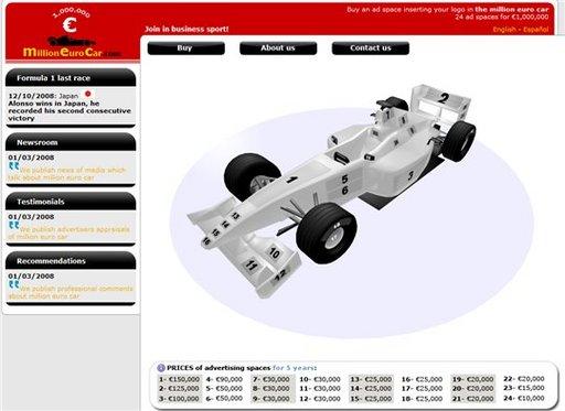 Million Euro Car - Une idée originale pour tenter d'empocher 1 000 000 d'Euros