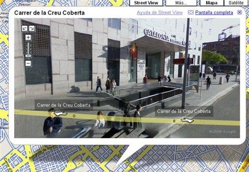 Google Street View en Espagne