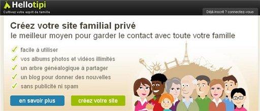 Hellotipi - 100 abonnements offerts pour créer votre réseau social familial