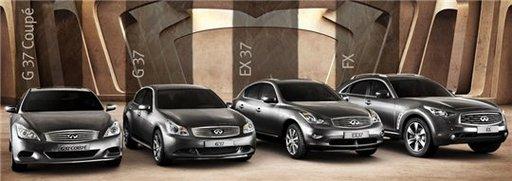 Infiniti - Le site Web qui donne envie d'acheter une voiture :)