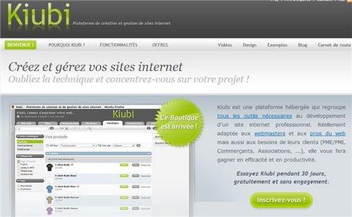 [Anniversaire AccessOWeb ] Kiubi offre à 5 personnes 6 mois gratuits de location et création d'un site e-commerce