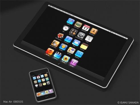 Une console de jeu Apple grosse comme un iPod Touch de 9 pouces pour 2009 ?