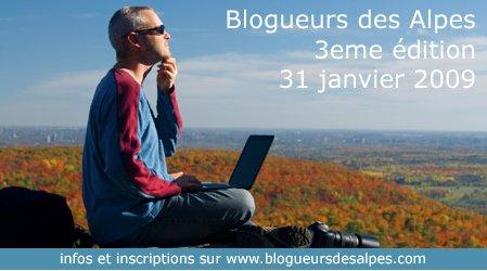 [annonce] Blogueurs des Alpes - 3ème édition
