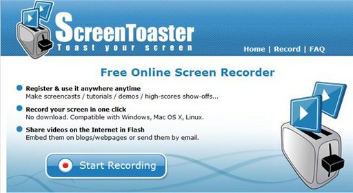 screentoaster screencast