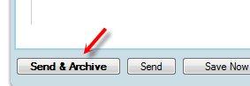 Envoyer et Archiver - une petite nouveauté sur Gmail
