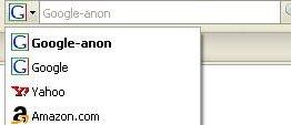 Google-anon - un plugin Firefox pour des recherches anonymes sur Google