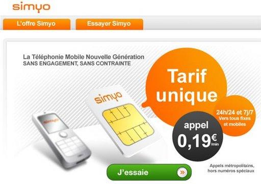 Simyo et AccessOweb vous offre 650 Euros de communications gratuites