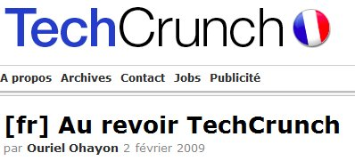 Ouriel Ohayon quitte TechCrunch France