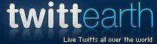TwittEarth - Twitter en live à travers le monde